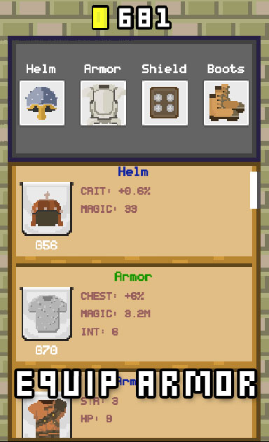 Epic Pixel - RPG Clicker